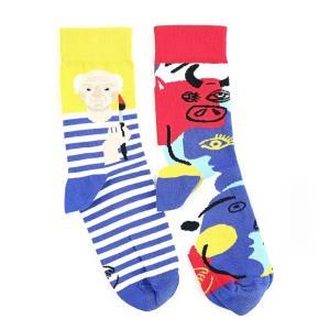 MANY MORNINGS(メニーモーニングス) ソックス PICASSOCKS レディース 靴下 パブロピカソ MY071016|coldbeck