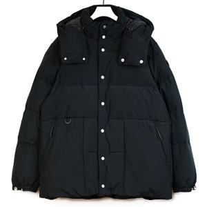 Yeti(イエティ) ノルディックダウンジャケット メンズ クリスタルダウン フード着脱可 ブラック YU45001|coldbeck