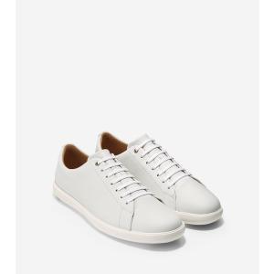コールハーン Colehaan アウトレット メンズ シューズ 靴 スニーカー グランド クロスコート II mens C26515 ホワイト レザー|colehaan