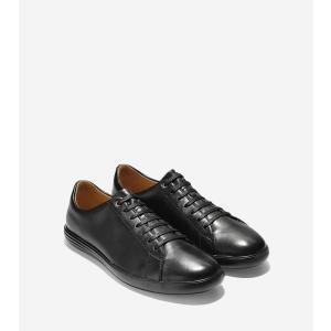 コールハーン Colehaan アウトレット メンズ シューズ 靴 スニーカー グランド クロスコート II mens C26655 ブラック レザー/ブラック|colehaan