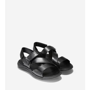 コールハーン Colehaan アウトレット メンズ シューズ 靴 サンダル 2.ゼログランド ストラップ サンダル mens C27648 ブラック/ブラック|colehaan