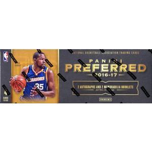未開封ボックス 16/17 Panini Preferred Basketball Hobby Box|coletre