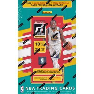 未開封ボックス 17/18 Panini Donruss Basketball Hobby Box|coletre