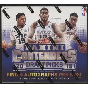 未開封ボックス 15/16 Panini Contenders Draft Picks Basketball Hobby Box|coletre