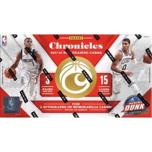 未開封ボックス 17/18 Panini Chronicles Basketball Hobby Box|coletre