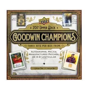 未開封ボックス 2017 UpperDeck Goodwin Champions Hobby Box|coletre