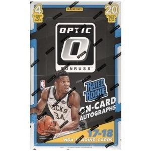 未開封ボックス 17/18 Panini Donruss Optic Basketball Retail Box|coletre