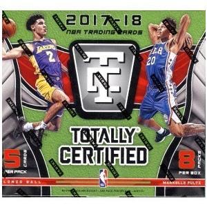 未開封ボックス 17/18 Panini Totally Certified Basketball Hobby Box|coletre