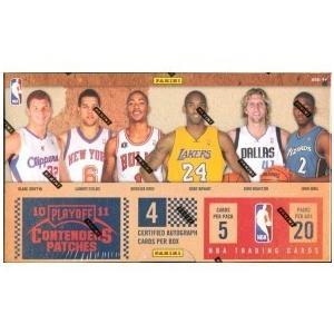 未開封ボックス 10/11 Panini Contenders Patches Basketball Hobby Box|coletre