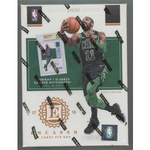 未開封ボックス 17/18 Panini Encased Basketball Hobby Box|coletre