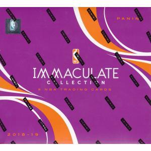 未開封ボックス 18/19 Panini Immaculate Collection Basketball Hobby Box|coletre