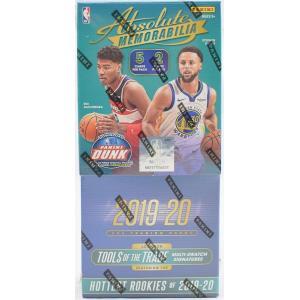 未開封ボックス 19/20 Panini Absolute Memorabilia Basketball Hobby Box|coletre