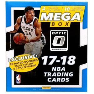 未開封ボックス 17/18 Panini Donruss Optic Basketball Mega Box|coletre