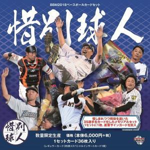 未開封ボックス 2018 BBM ベースボールカードセット 惜別球人|coletre