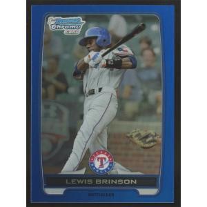 Lewis Brinson 2012 Bowman Chrome Draft Picks Blue Refractors 157/250 #BDPP31|coletre