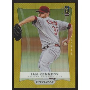 Ian Kennedy 2012 Panini Prizm Gold Prizm 10/10 #46|coletre