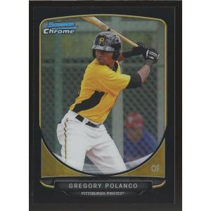 Gregory Polanco 2013 Bowman Chrome Prospects Black Refractors 20/99 #BCP79|coletre