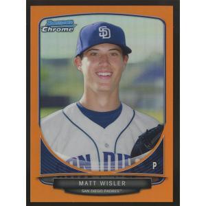 Matt Wisler 2013 Bowman Chrome Prospects Orange Refractors 06/25 #BCP149|coletre