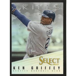 Ken Griffey Jr. 2013 Panini Select Skills Silver Prizm #SK37 coletre
