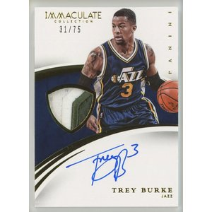 Trey Burke 14/15 Panini Immaculate Patch Auto 31/75 coletre
