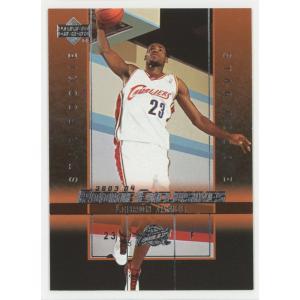 Lebron James 03/04 Upper Deck Rookie Exclusive Rookie RC #1 coletre