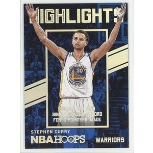 Stephen Curry 15/16 Panini Hoops Highlights coletre