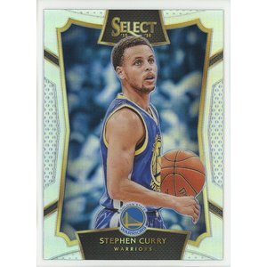 Stephen Curry 15/16 Panini Select Silver Prizm #99 coletre