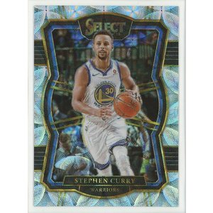 Stephen Curry 17/18 Panini Select Scope Prizm #143 coletre