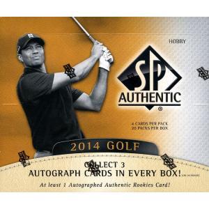未開封ボックス 2014 SP Authentic Golf Hobby Box|coletre