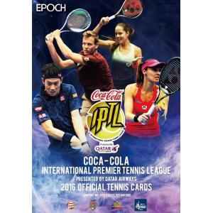 【プロモ3種付/画像5参照】未開封ボックス EPOCH コカ・コーラ インターナショナル・プレミア・テニスリーグ 2016 オフィシャル・テニスカード|coletre