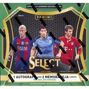 未開封ボックス 16/17 Panini Select Soccer Hobby Box|coletre