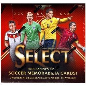 未開封ボックス 15/16 Panini Select Soccer Hobby Box|coletre