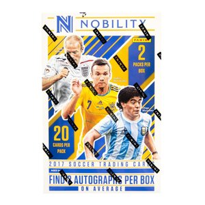 未開封ボックス 17/18 Panini Nobility Soccer Hobby Box|coletre