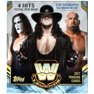 未開封ボックス 2017 Topps Legends of WWE Wrestling Hobby Box|coletre