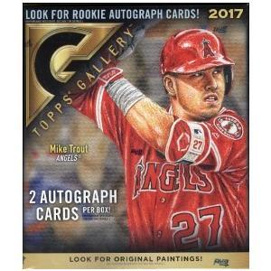 未開封ボックス 2017 Topps Gallery Baseball Box|coletre