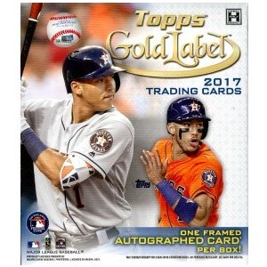 未開封ボックス 2017 Topps Gold Label Baseball Hobby Box|coletre