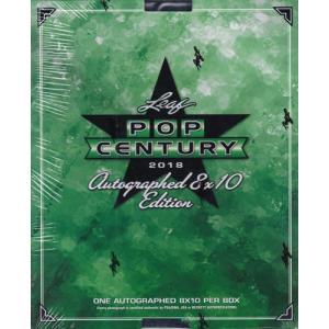 未開封ボックス 2018 Leaf Pop Century Autographed 8×10 Edition Box|coletre