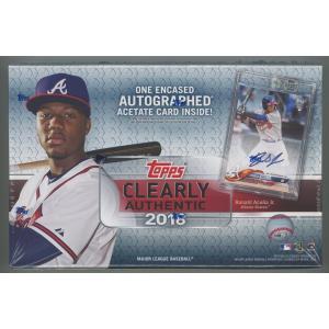 未開封ボックス 2018 Topps Clearly Authentic Baseball Hobby Box|coletre