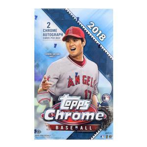 未開封ボックス 2018 Topps Chrome Baseball Hobby Box|coletre