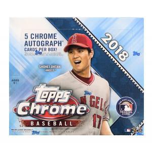 未開封ボックス 2018 Topps Chrome Baseball Jumbo Box|coletre
