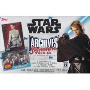 未開封ボックス 2018 Topps Star Wars Archives Signature Series|coletre