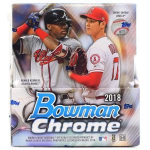 未開封ボックス 2018 Bowman Chrome Baseball Hobby Box|coletre