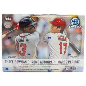 未開封ボックス 2018 Bowman Chrome Baseball HTA Choice Box|coletre