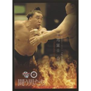 日馬富士公平 2016 大相撲カード 彩 レギュラーカード 闘う男たち #55|coletre