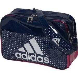 アディダス (adidas)   エナメル ショルダーLサイズ BIP41-AP3360カレッジネイビー/イーキューティーピンク S16|collabo