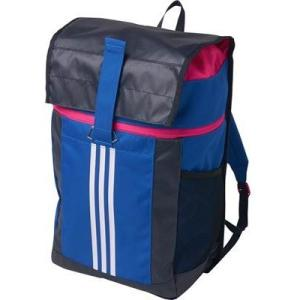 アディダス (adidas)    ジュニア FB バックパック リュックサック 20L BVD67-BR1428ブルー/ホワイト|collabo