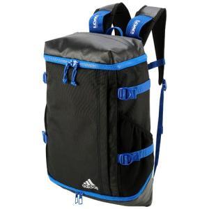 アディダス (adidas)  OPSバックパック  パフォーマンスボックス26L リュックサック DME31-BP6577ブラック/ブルー|collabo