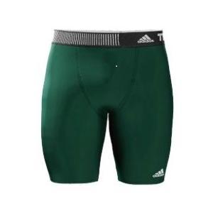 adidas メンズ アディダスインナーパンツ  テックフィット ショートタイツ  S27178グリーン|collabo