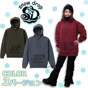 snowdrop × como  コラボ snowdorpプロディースフーディー スノードロップ|collc
