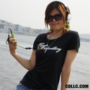 数量限定 como(コモ)  吉沢こずも プロデュース  LADIES Tシャツ カラー:BLACK|collc